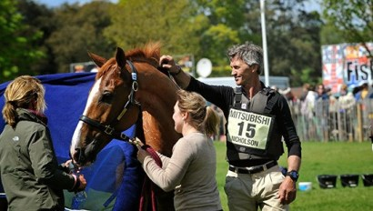 The Ultimate Guide to Badminton Horse Trials - 2017 winner Andrew Nicholson and Nereo