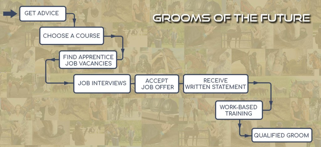 The Grooms List Apprenticeship Zone - Simple Step by Step Guide to Becoming an Apprentice Groom