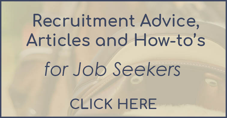 Articles advice and how-tos for equine job seekers