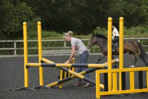 teaching horse riding - Show Jumping