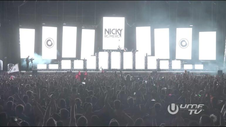Nicky Romero playing Teamworx's Champion Sound at Ultra