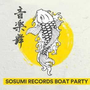 Sosumi Boat Party Amsterdam Dance Event ADE Kryder