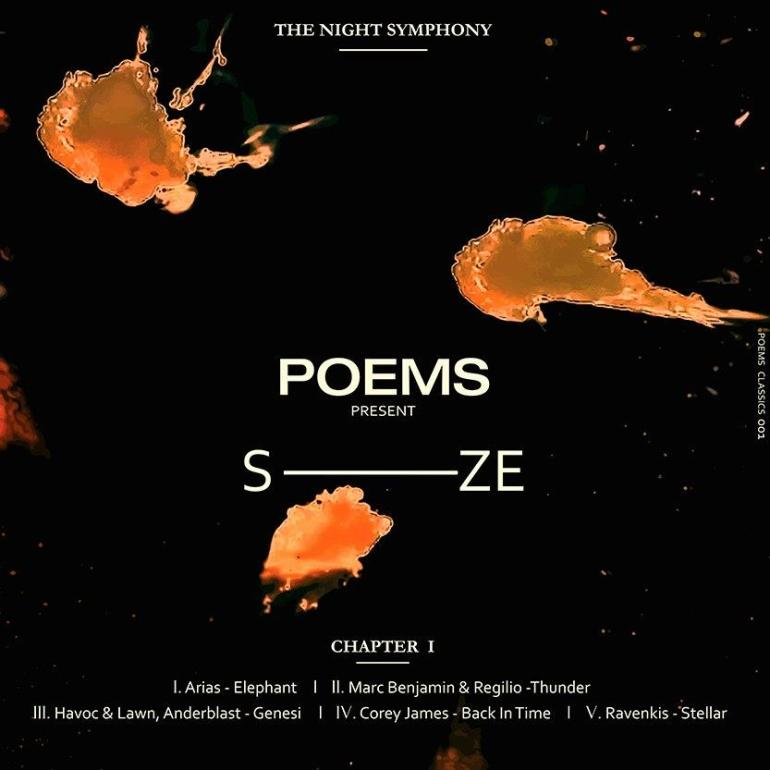 Poems The Night Symphony SIZE