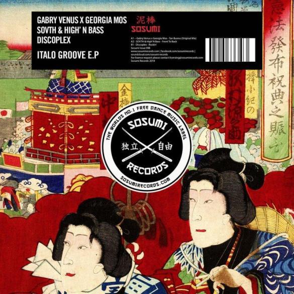 Discoplex Rockin SOVTH Front To Back Gabry Venus Tan Bueno Italo Groove EP
