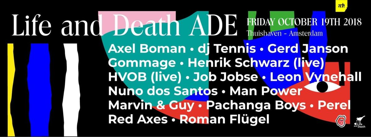 Thuishaven Amsterdam Dance Event Life and Death 2018