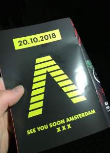 Axwell ingrosso Amsterdam ADE 2018