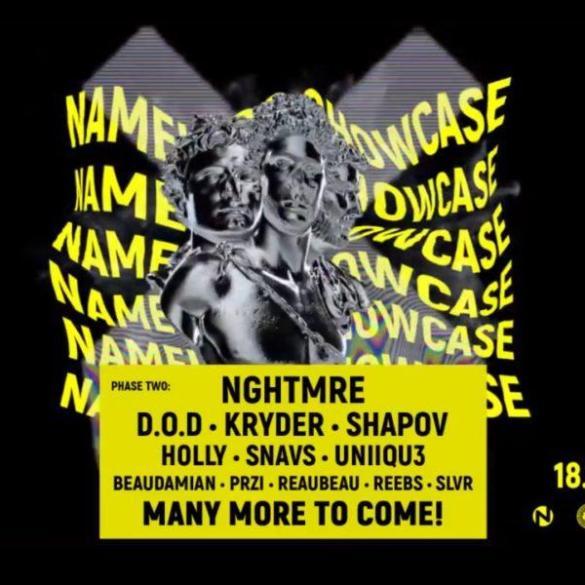 Nameless showcase amsterdam dance event 2018 ade kryder d.o.d shapov