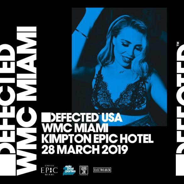 Defected WMC Miami 2019 pool party