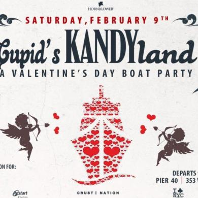 KANDY Cupid Boat Party New York City