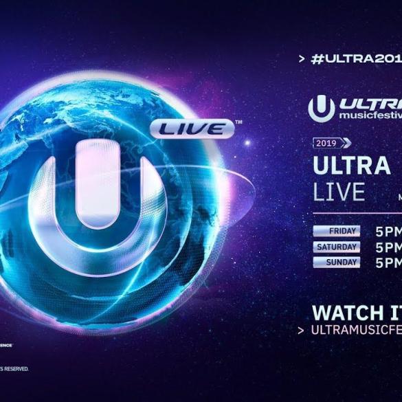 Ultra Miami livestream 2019
