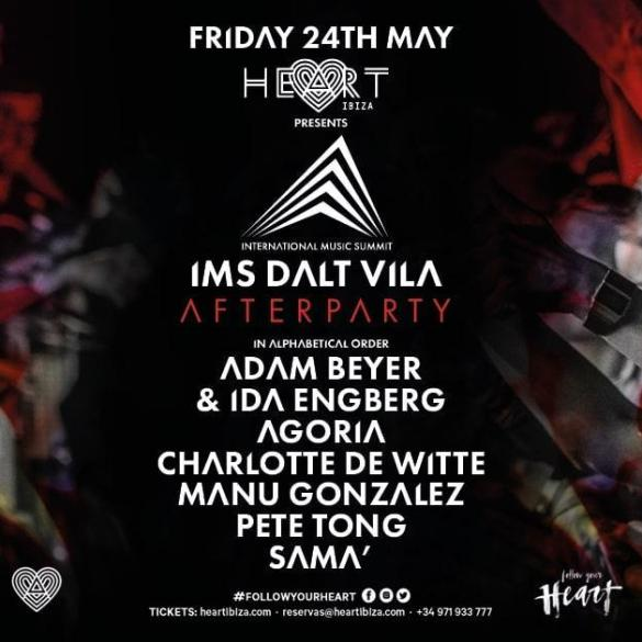 IMS Ibiza Dalt Vila after party Heart