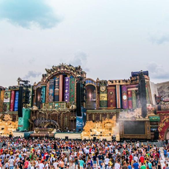 Tomorrowland mainstage 2019