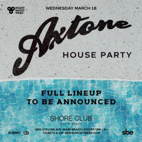 Axtone party Miami Music Week 2020