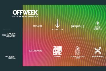 OFF WEEK Festival Barcelona 2020 guide