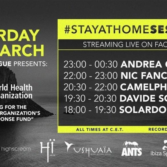 Ushuaïa #STAYATHOMESESSIONS