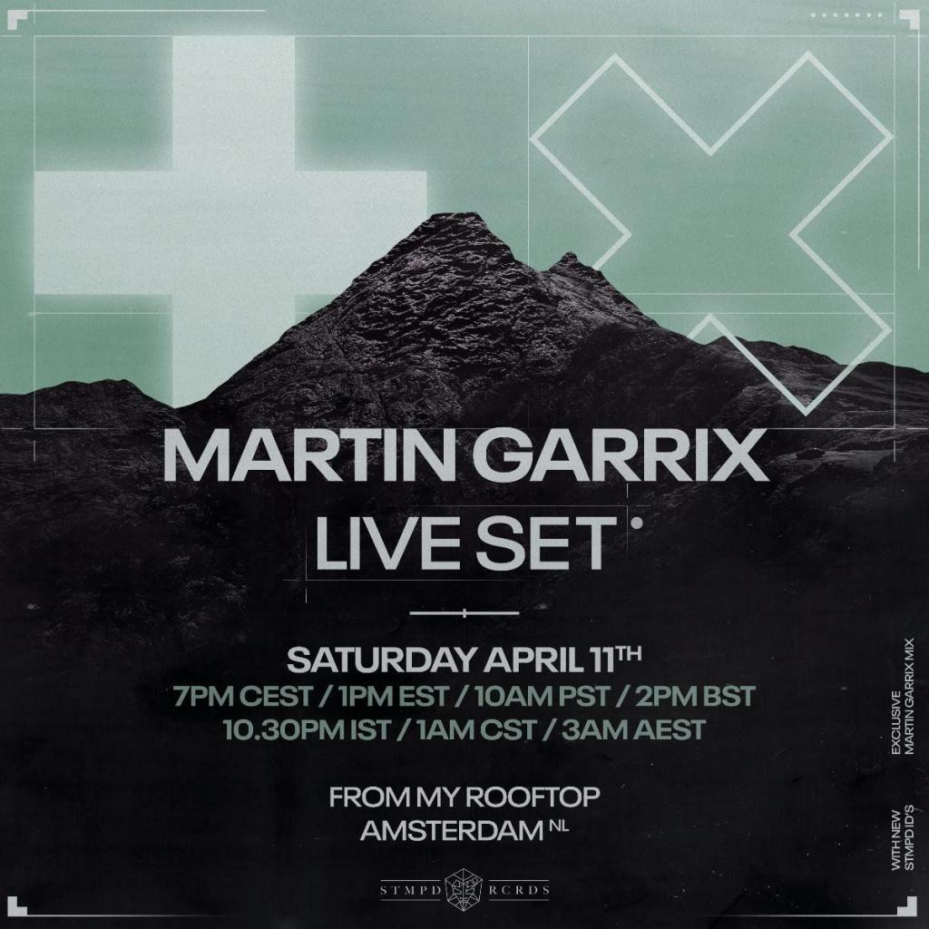 Martin Garrix announces exclusive live set; how to watch