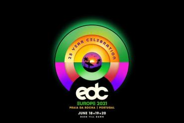EDC Electric Daisy Carnival Europe 2021 flyer