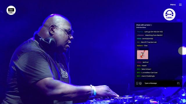 Clubbing TV live with Carl Cox