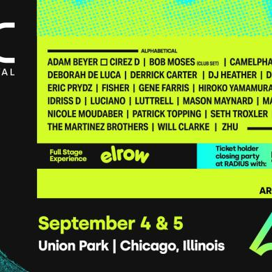 ARC Music Festival Chicago lineup
