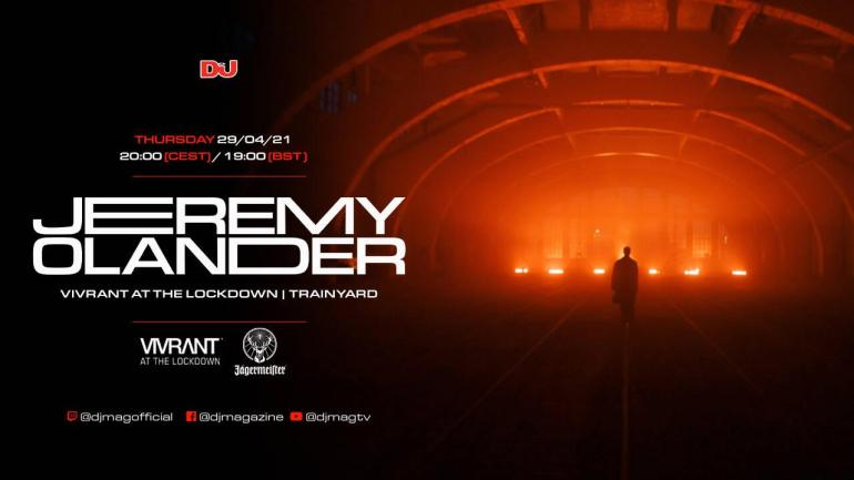 Jeremy Olander 'Vivrant at the Lockdown' stream from 108-year old trainyard