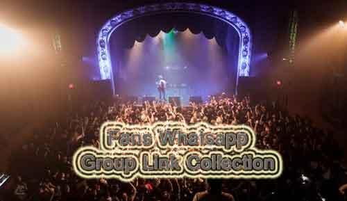 Fans Whatsapp Group Link