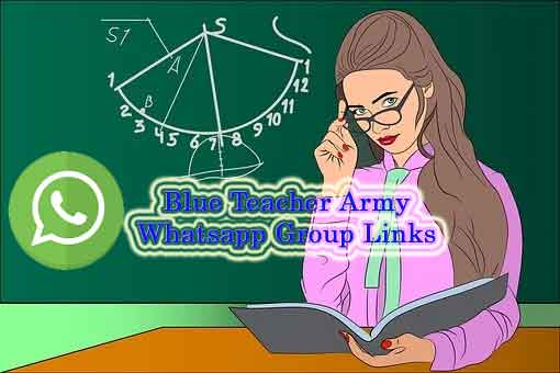 Blue Teacher Army Whatsapp