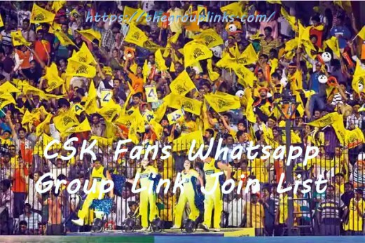 CSK Fans Whatsapp Group