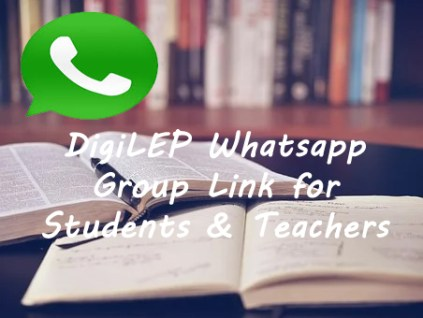 DigiLEP Whatsapp Group Link