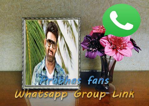 Prabhas Whatsapp group Link