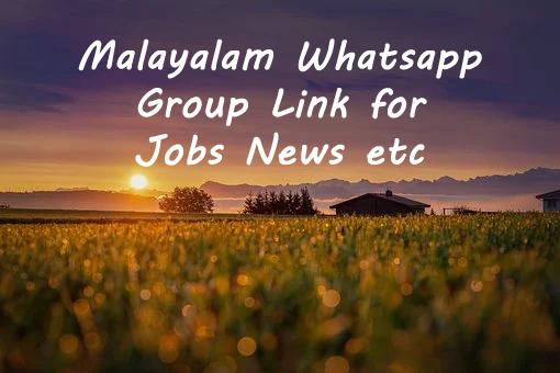 Malayalam Whatsapp Group
