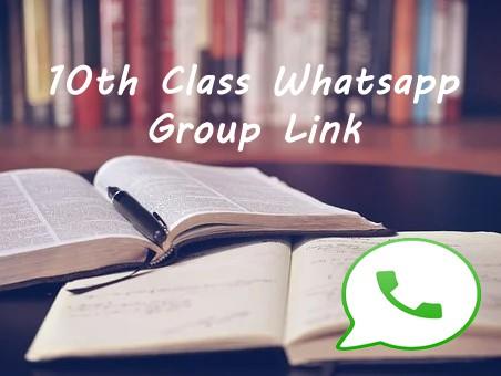 10th Class Whatsapp Group