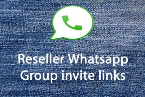 Reseller Whatsapp Group