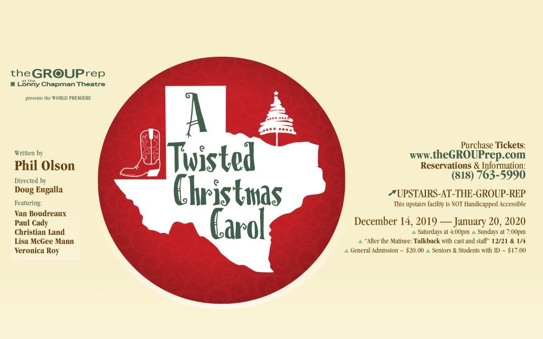 Twisted Christmas 2020 Meet the Cast: A Twisted Christmas Carol | The Group Rep, An