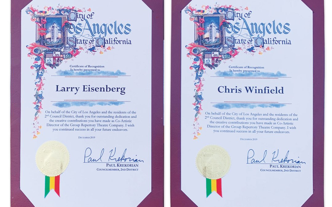 City of Los Angeles Certificates
