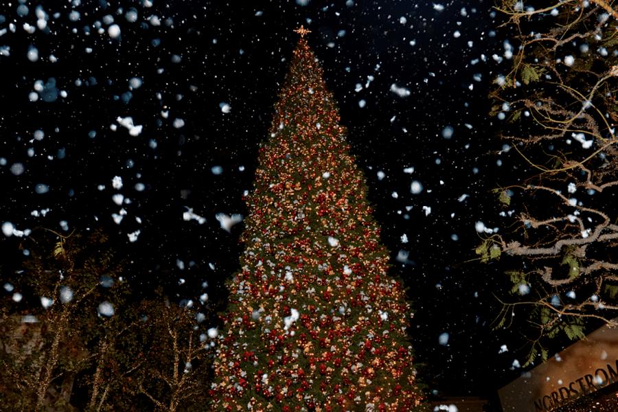 A Winter Wonderland The Grove LA