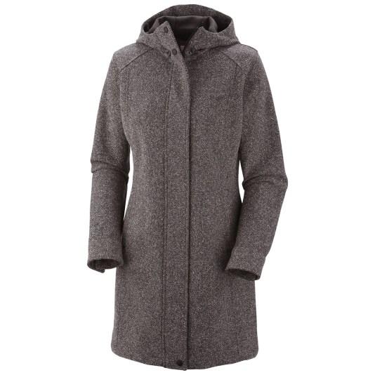 Long coat with a hood