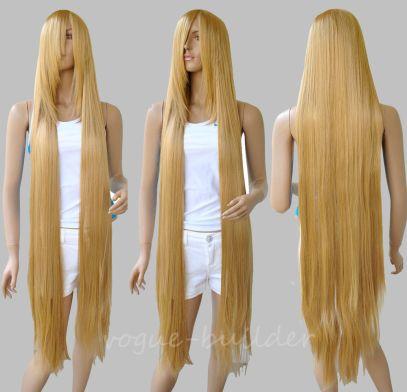 Put on wig