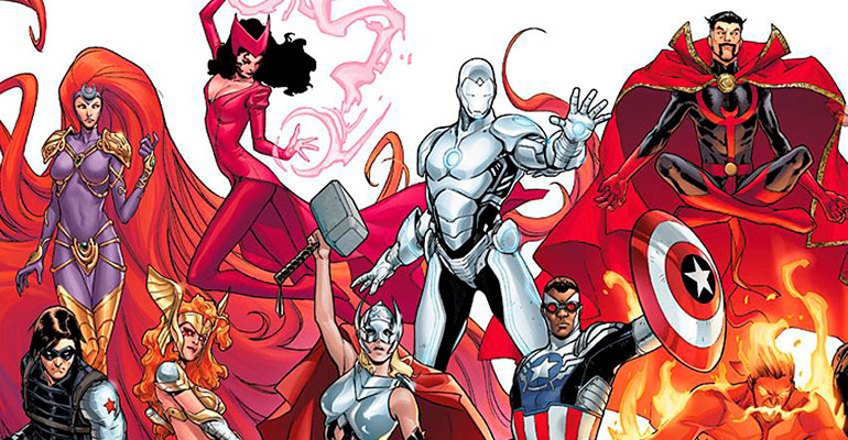 Nuevo equipo de Marvel