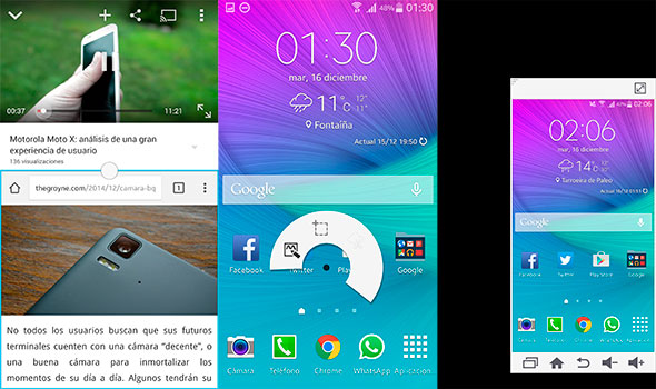 Samsung Galaxy Note 4 y TouchWiz