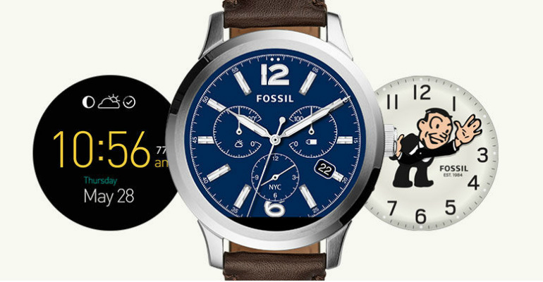 8071c04989b6 Fossil Q Founder