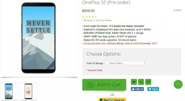 OnePlus 5T 06