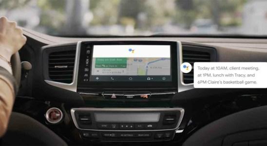 Google Assistant integración Android Auto CES 2018