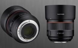 Samyang 85mm f1.4
