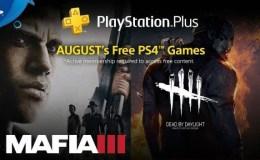 juegos gratis de PlayStation Plus de Agosto 2018