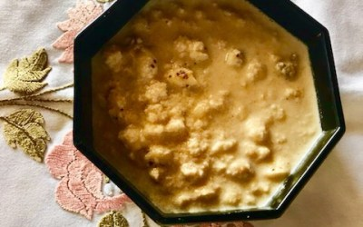 LOTUS SEEDS PUDDING