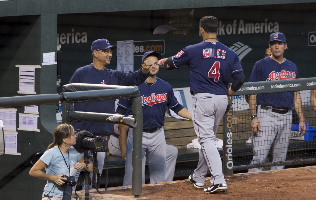 Indians win streak reaches 19 with 11-0 beating of Tigers