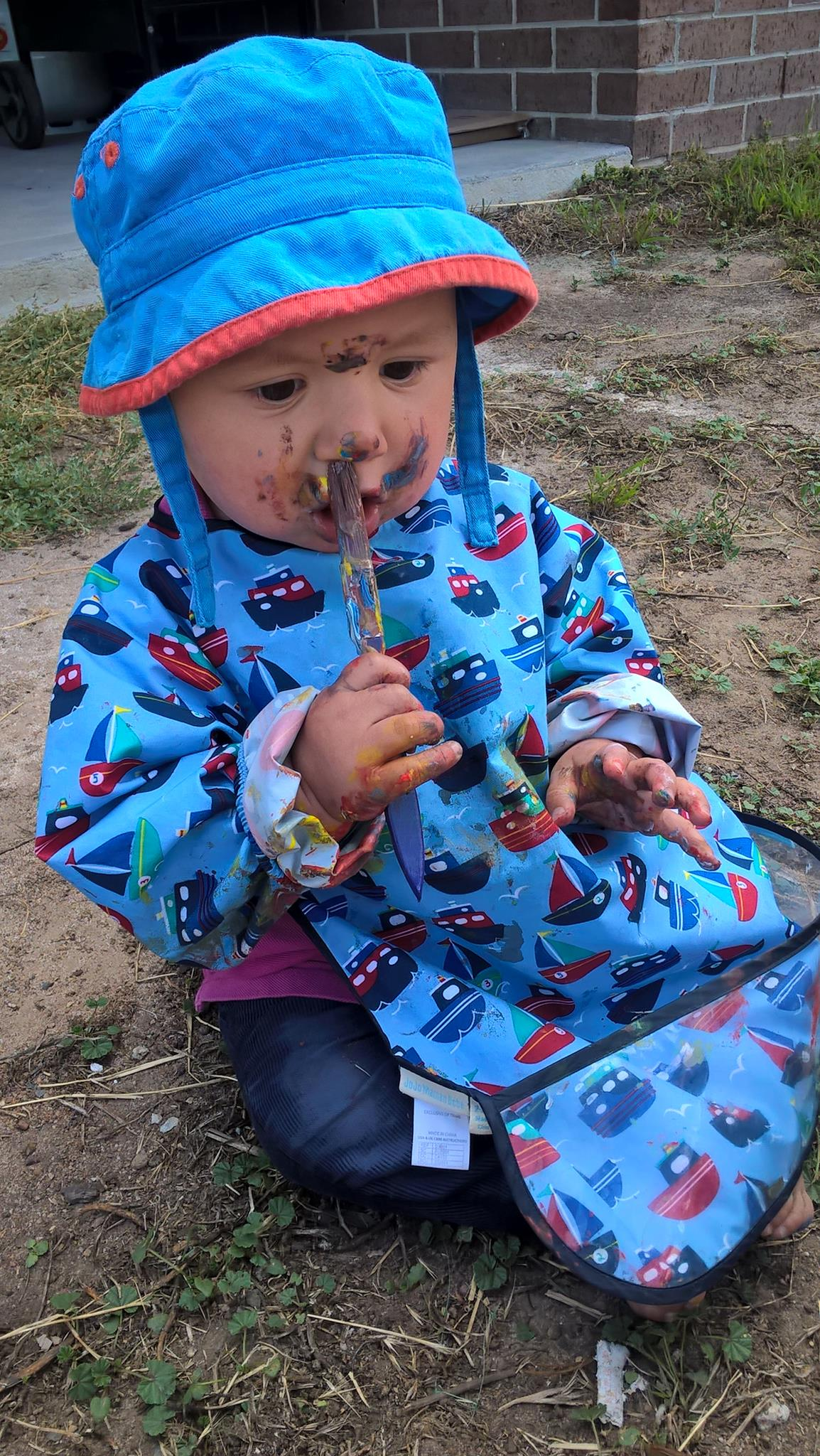 Painting Messy Play