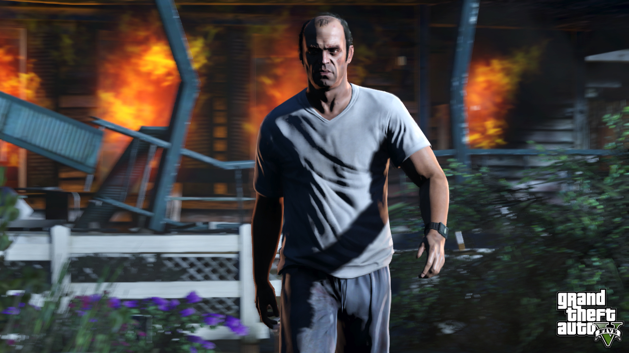 Image result for trevor philips wallpaper