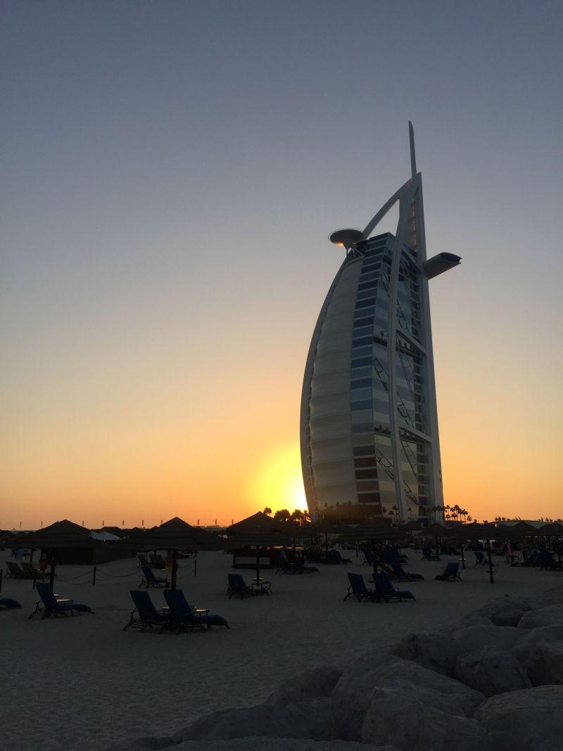 Sunset - Jumeriah Beach Hotel