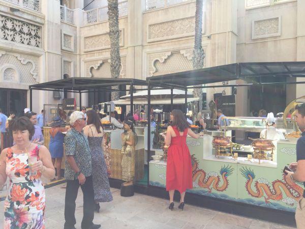 Al Qasr brunch Dubai food stations